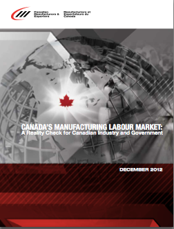 canadian manufacturing labour market report
